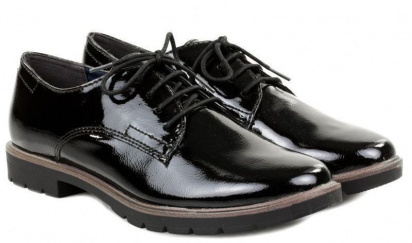 Полуботинки для женщин Tamaris 23600-29-001 BLACK цена обуви, 2017