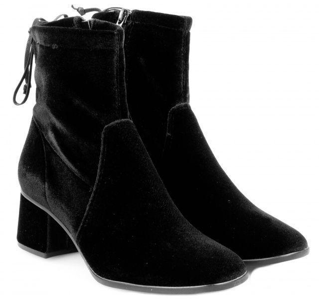 Черевики  для жінок Tamaris 25047-29-048 BLACK VELVET брендове взуття, 2017