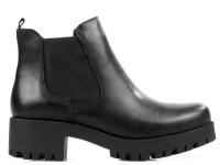 Ботинки для женщин Tamaris 25435-29-003 BLACK LEATHER модная обувь, 2017