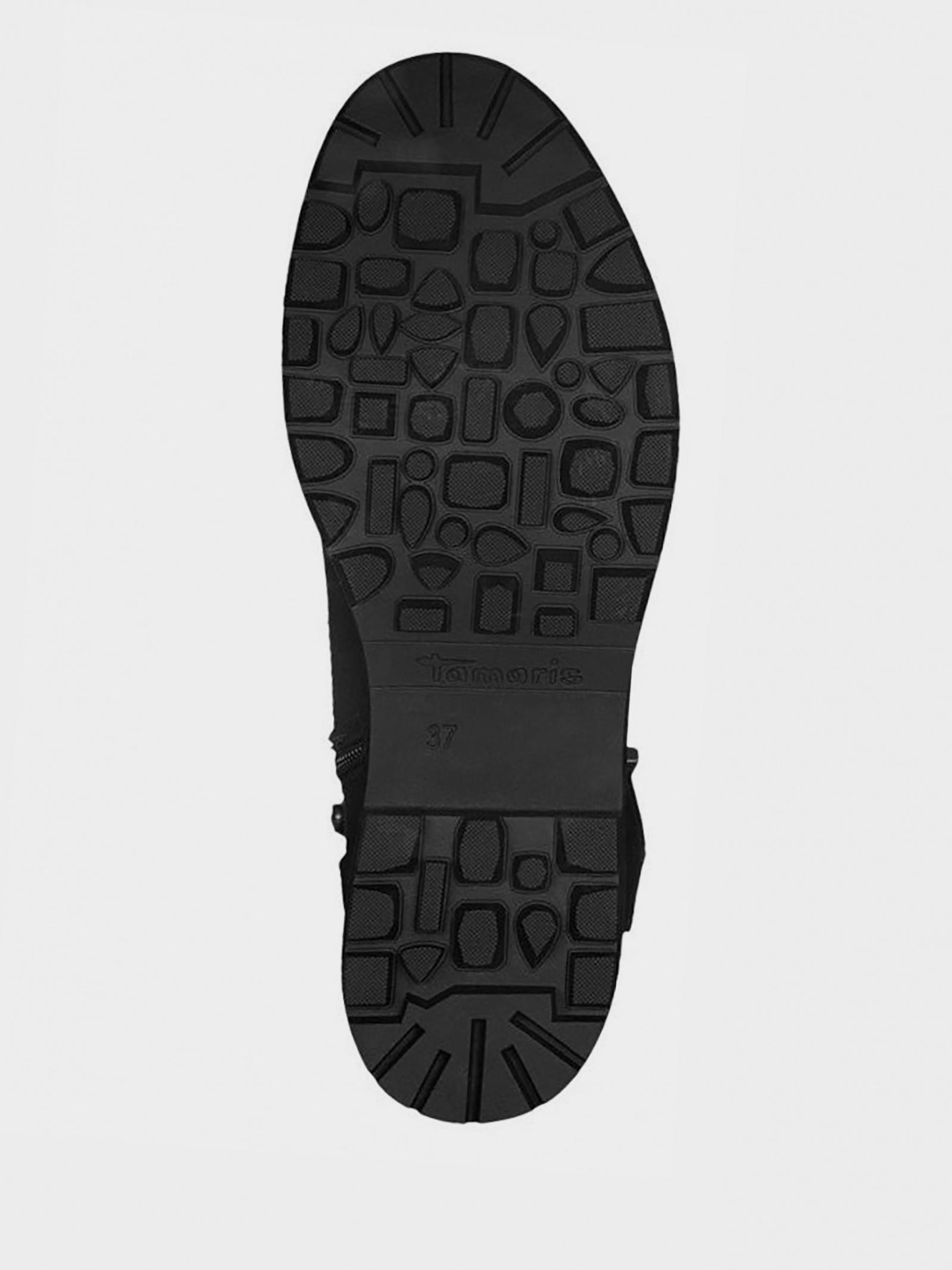 Черевики  для жінок Tamaris 1-1-25440-21 001 BLACK ціна взуття, 2017