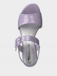 Босоніжки  для жінок Tamaris 28211-22-560  LAVENDER PAT. ціна, 2017