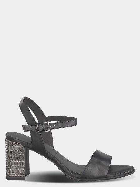 Босоніжки  для жінок Tamaris 28359-22-003 BLACK LEATHER модне взуття, 2017