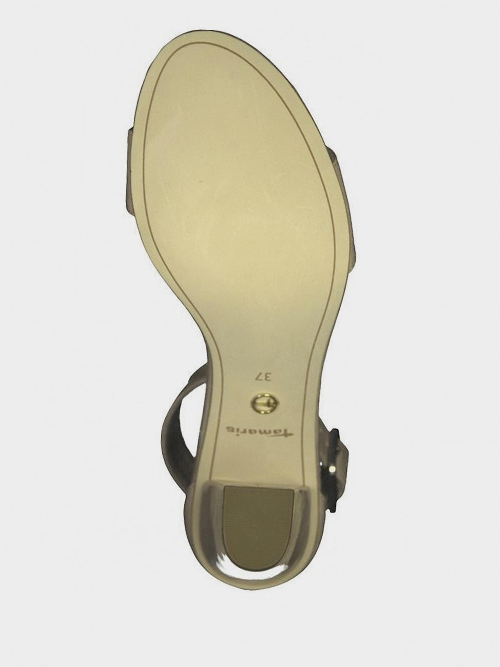 Босоніжки  для жінок Tamaris 28018-22-253 NUDE PATENT модне взуття, 2017