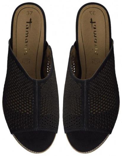 Шльопанці  для жінок Tamaris 1-1-27256-22-001 BLACK брендове взуття, 2017