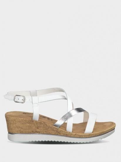 Босоніжки  для жінок Tamaris 28340-22-191 WHITE/SILVER брендове взуття, 2017