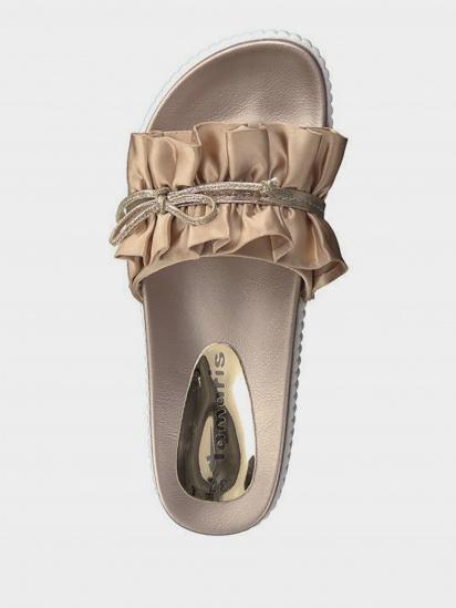 Шльопанці  для жінок Tamaris 27212-22-578 ROSE SATIN модне взуття, 2017