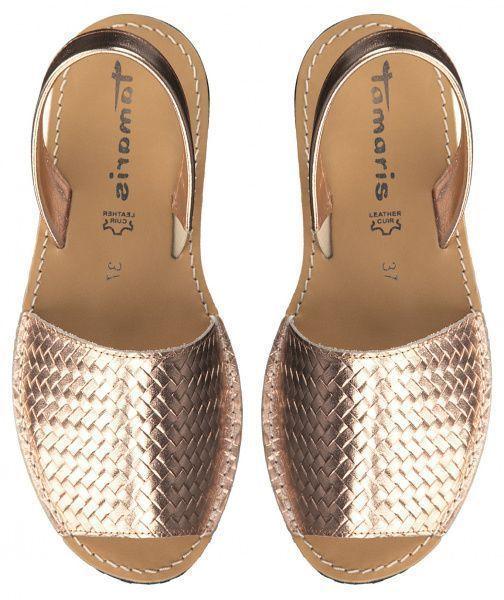 Сандалі  для жінок Tamaris 28164-32-964 ROSE GOLD ціна взуття, 2017