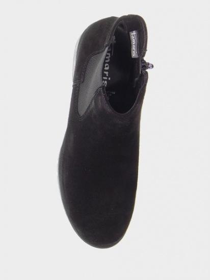 Челсі Tamaris модель 25435-23-004 BLACK SUEDE — фото 4 - INTERTOP