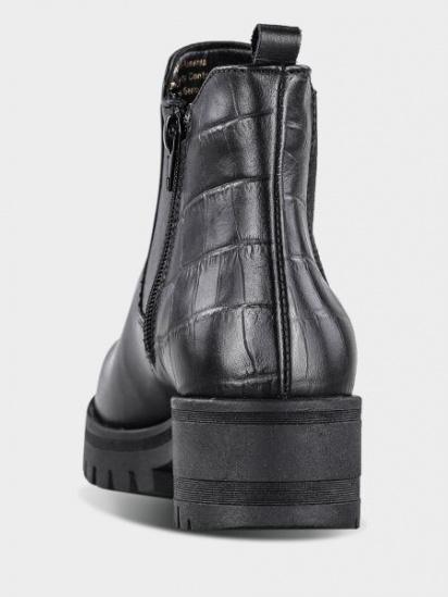 Челсі Tamaris модель 25435-23-021 BLACK/ STR. — фото 3 - INTERTOP