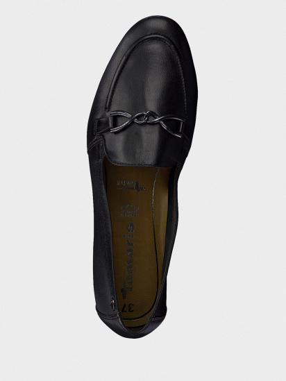 Туфлі Tamaris модель 24211-24-003 BLACK LEATHER — фото 4 - INTERTOP