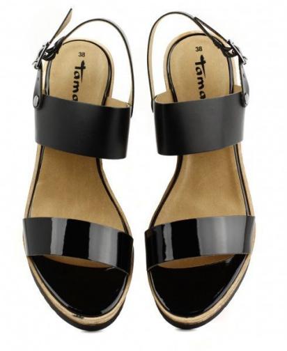 Босоніжки Tamaris модель 28370-24-043 black/blk pat. — фото 10 - INTERTOP