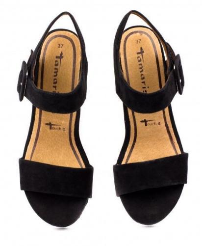 Босоніжки Tamaris модель 28356-24-001 black — фото 6 - INTERTOP