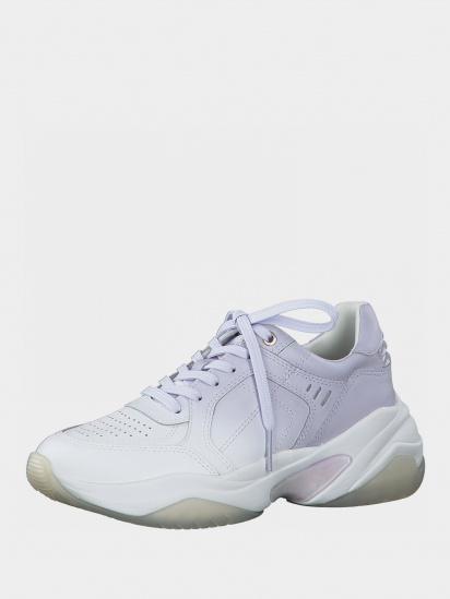 Кросівки для міста Tamaris модель 1-1-23735-26 158 WHITE/LILAC — фото 3 - INTERTOP