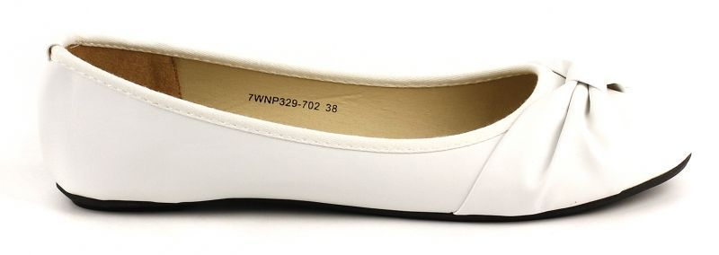 Купить Балетки женские Plato SHL JC2185, Белый