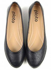 Балетки для женщин Plato SHL JC2895 модная обувь, 2017