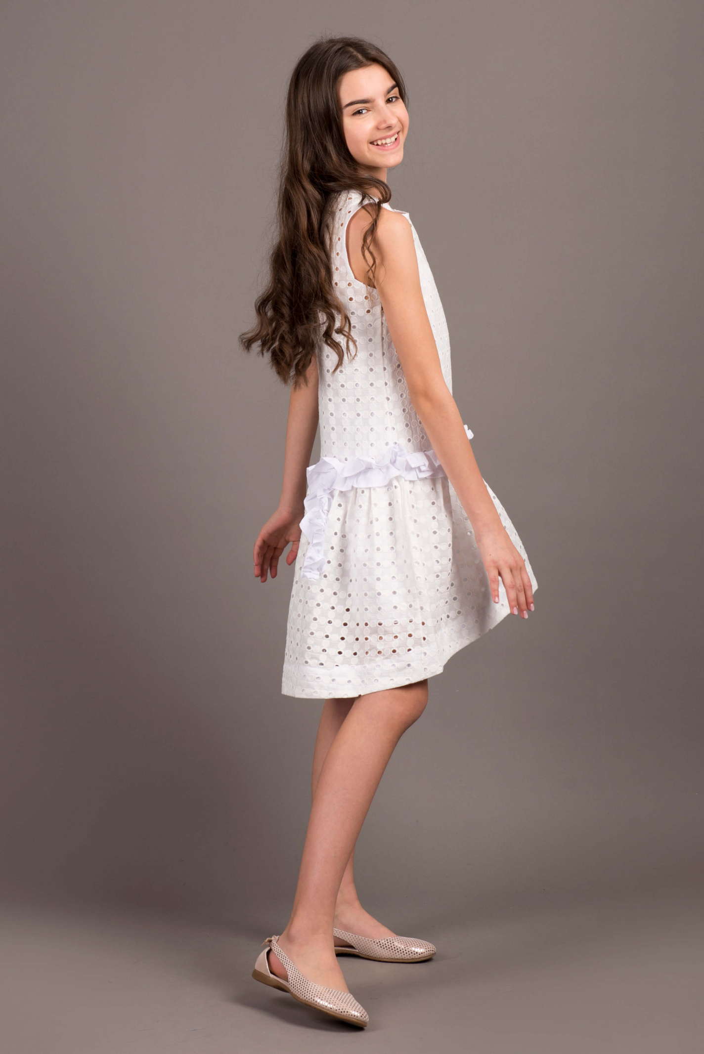 Платье детские ANDRE TAN модель K20079P качество, 2017