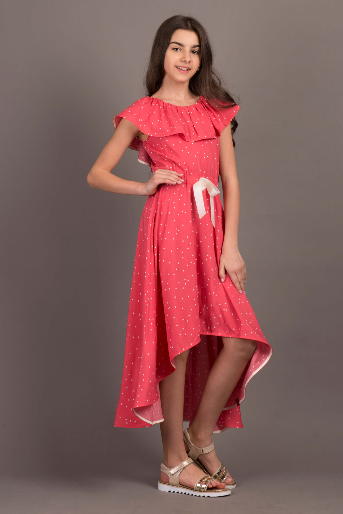 Платье детские ANDRE TAN модель K40037K качество, 2017