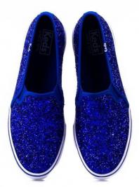 Напівчеревики  жіночі KEDS DOUBLE DECKER GLITTER WF54671 брендове взуття, 2017
