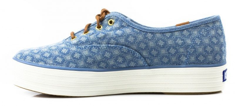 Кеды для женщин KEDS TRIPLE DIAMOND DOT KD239 примерка, 2017
