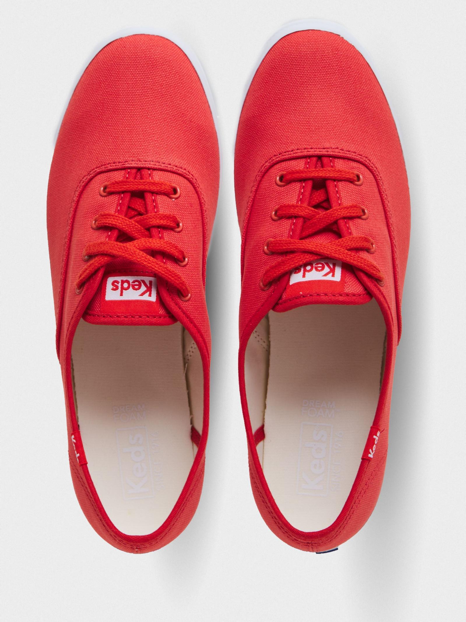 Кеды для женщин KEDS CHAMPION SEASONAL SOLIDS KD327 брендовая обувь, 2017