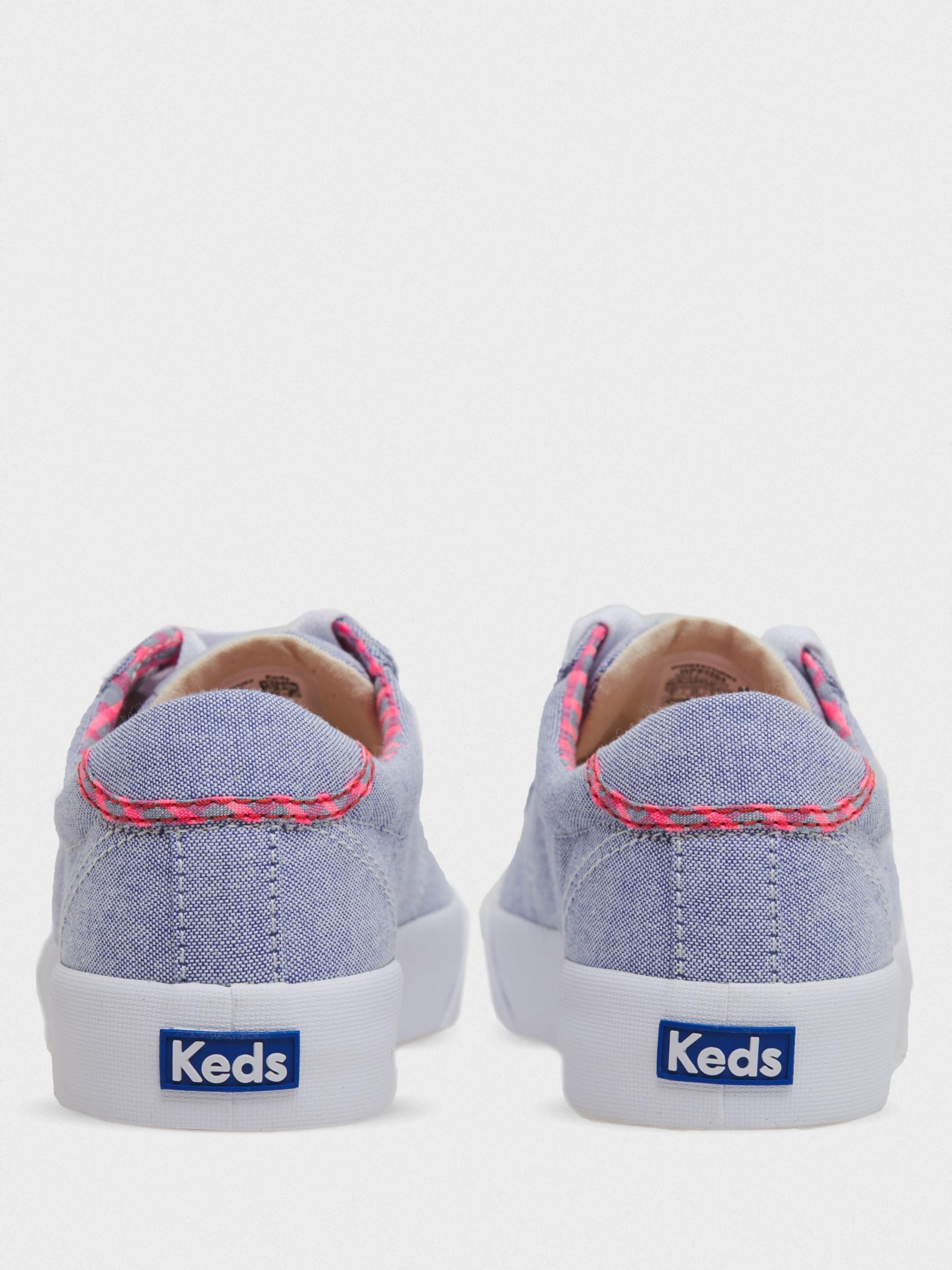 Кеды для женщин KEDS CREW KICK 75 CHAMBRAY KD328 фото, купить, 2017