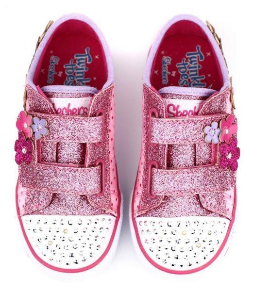 Полуботинки для детей Skechers Twinkle Toes KK1721 цена обуви, 2017