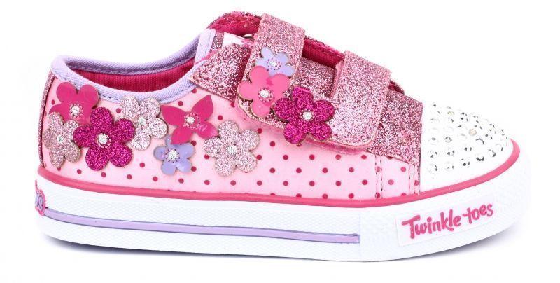 Полуботинки для детей Skechers Twinkle Toes KK1721 фото, купить, 2017