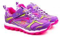Фиолетовые кроссовки Для девочек, фото, intertop