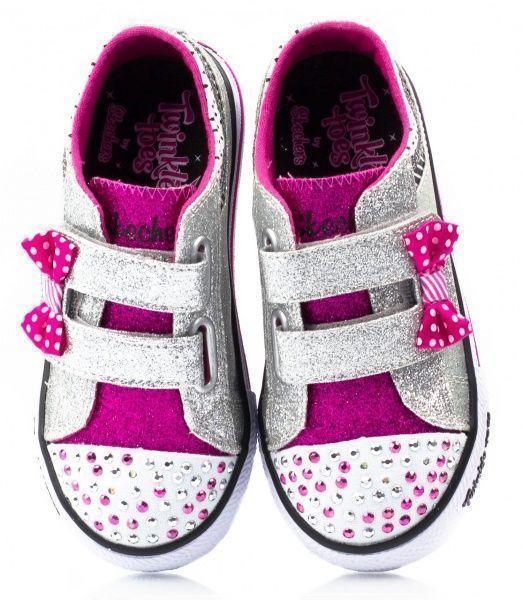 Кеды детские Skechers KK1804 размерная сетка обуви, 2017