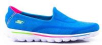 Сліпони  для дітей Skechers 81052L BLU модне взуття, 2017