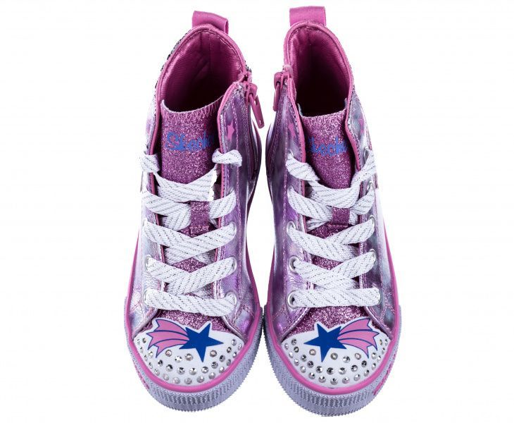 Кеды детские Skechers Twinkle toes KK2295 в Украине, 2017