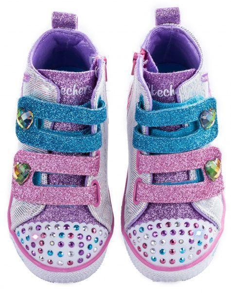 Кроссовки детские Skechers Twinkle toes KK2298 фото, купить, 2017