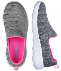 Слипоны для детей Skechers 81185L GYPK размеры обуви, 2017