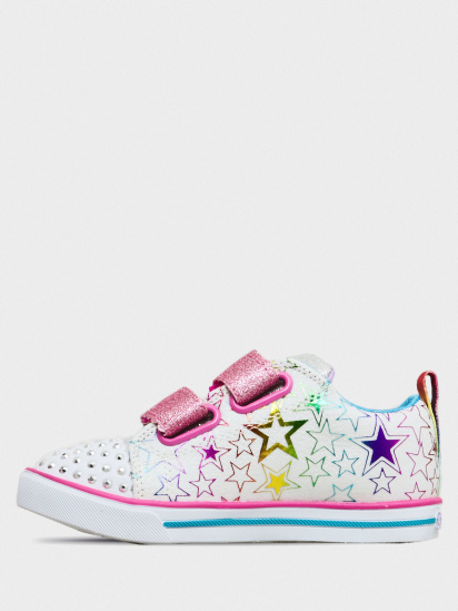 Кросівки для міста Skechers Twinkle Toes: Sparkle Lite - Stars So Bright модель 314037N WMLT — фото 2 - INTERTOP
