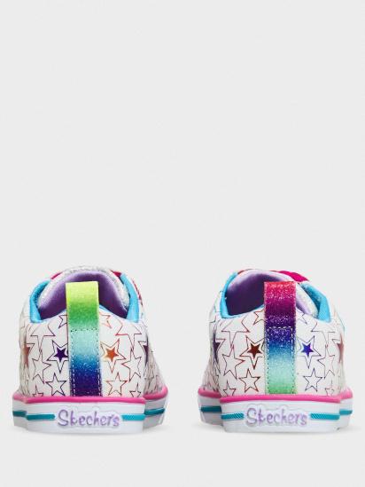 Кросівки для міста Skechers Twinkle Toes: Sparkle Lite - Stars So Bright модель 314037N WMLT — фото 4 - INTERTOP