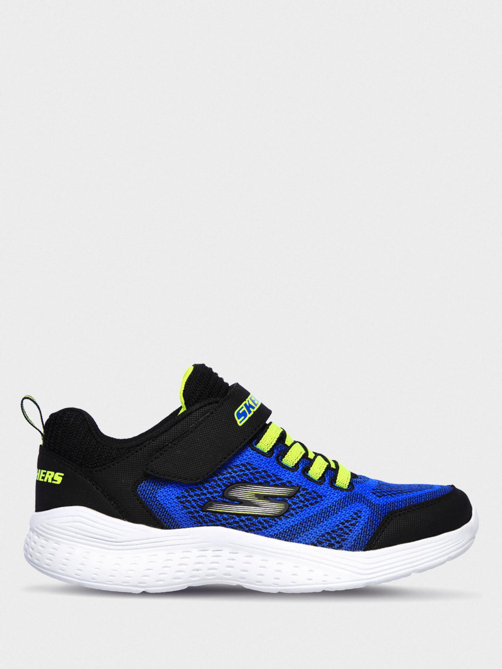 Кросівки  для дітей Skechers 97546L BLBK купити взуття, 2017