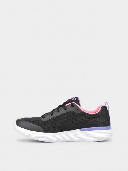 Кросівки для міста Skechers GO RUN модель 302428L BKPR — фото 2 - INTERTOP