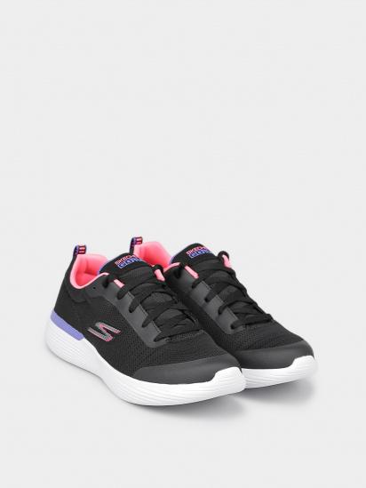 Кросівки для міста Skechers GO RUN модель 302428L BKPR — фото 3 - INTERTOP