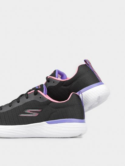 Кросівки для міста Skechers GO RUN модель 302428L BKPR — фото 4 - INTERTOP