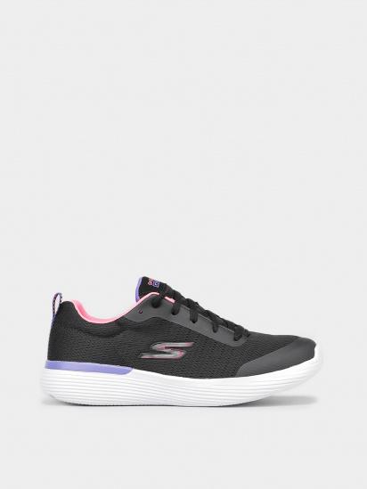 Кросівки для міста Skechers GO RUN модель 302428L BKPR — фото - INTERTOP