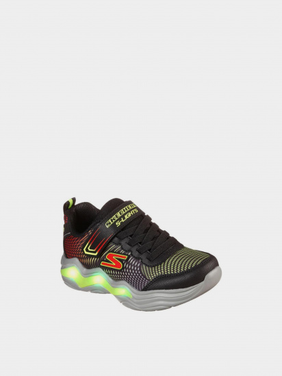 Кросівки для міста Skechers S Lights: Erupters IV модель 400125L BKLM — фото 2 - INTERTOP