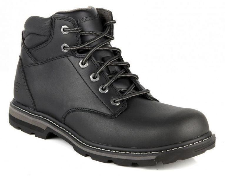 Купить Ботинки мужские Skechers KM1694, Черный