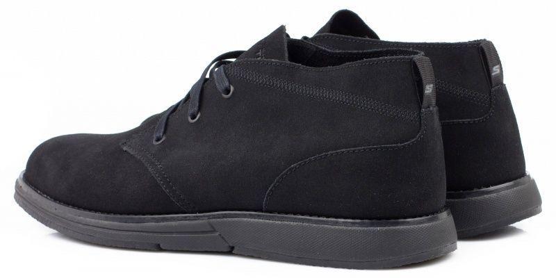 Полуботинки мужские Skechers KM2377 брендовая обувь, 2017