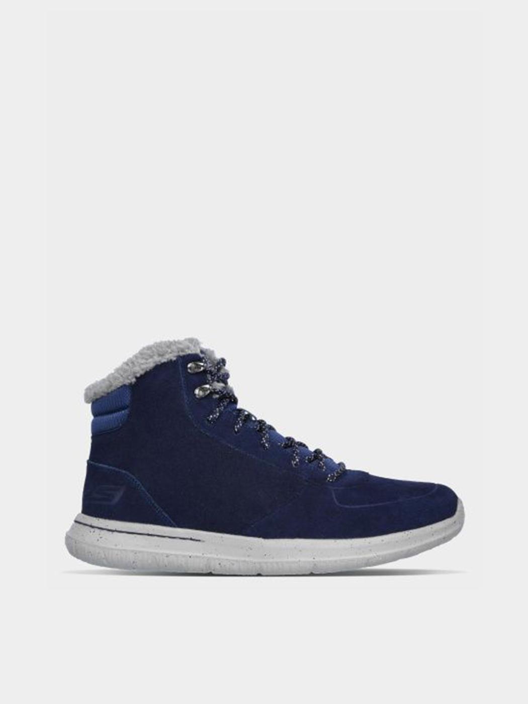 Купить Ботинки мужские Skechers KM2506, Синий