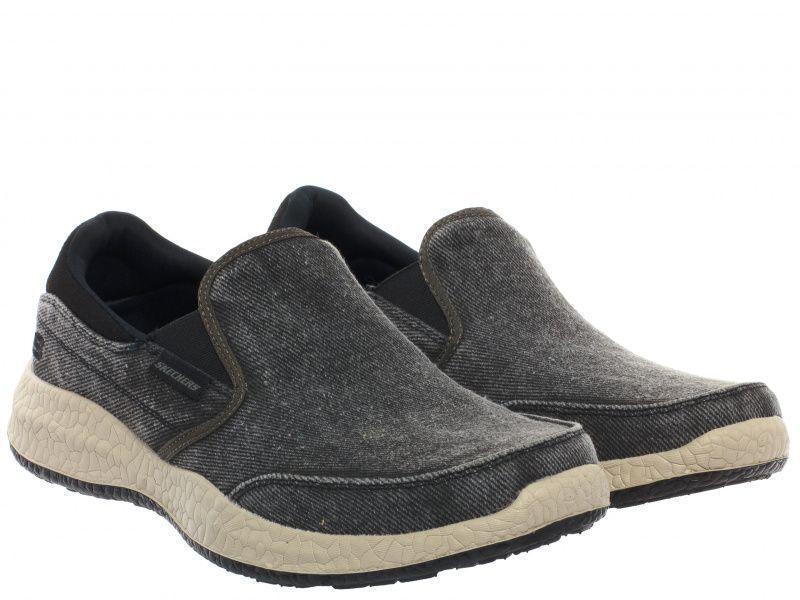 Купить Cлипоны мужские Skechers KM2584, Черный