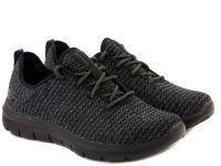 мужская обувь Skechers черного цвета характеристики, 2017