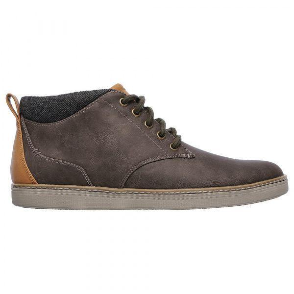 Полуботинки для мужчин Skechers KM2769 брендовая обувь, 2017