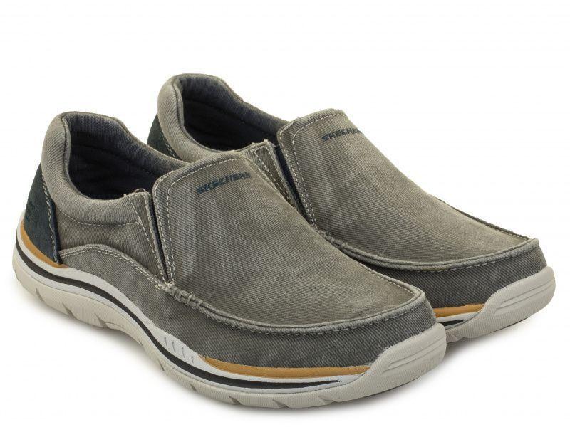 Слипоны для мужчин Skechers USA KM2883 модная обувь, 2017