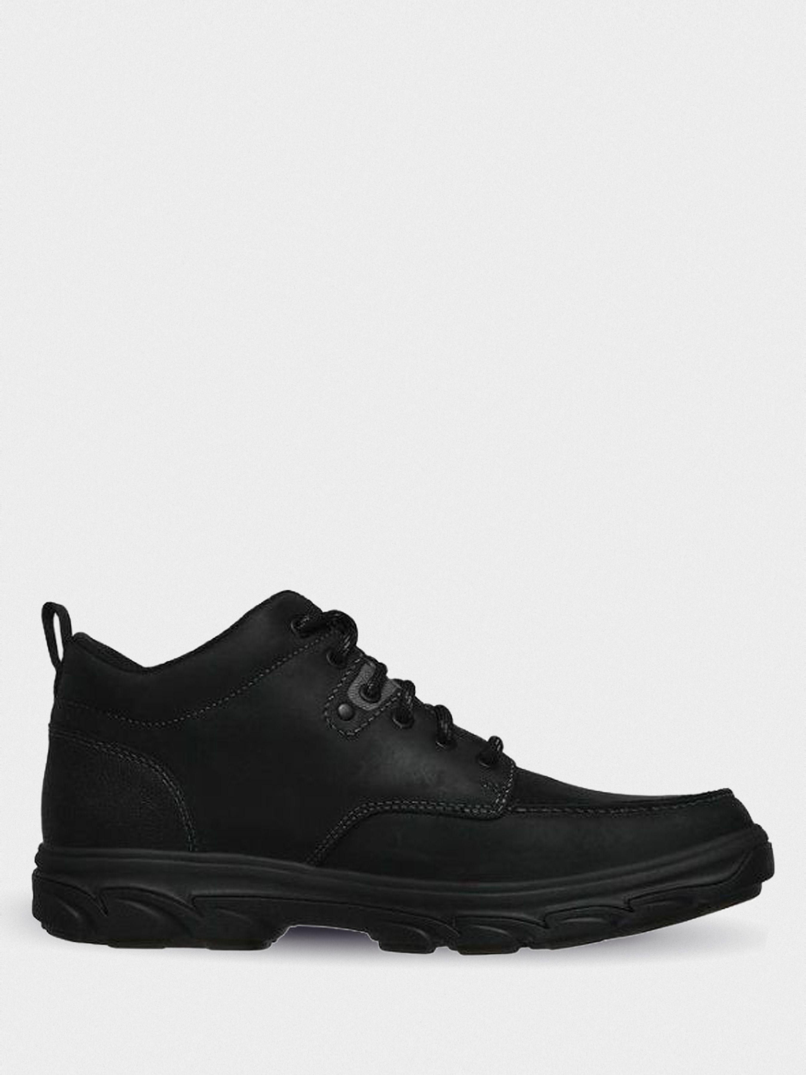 Купить Ботинки мужские Skechers KM3001, Черный