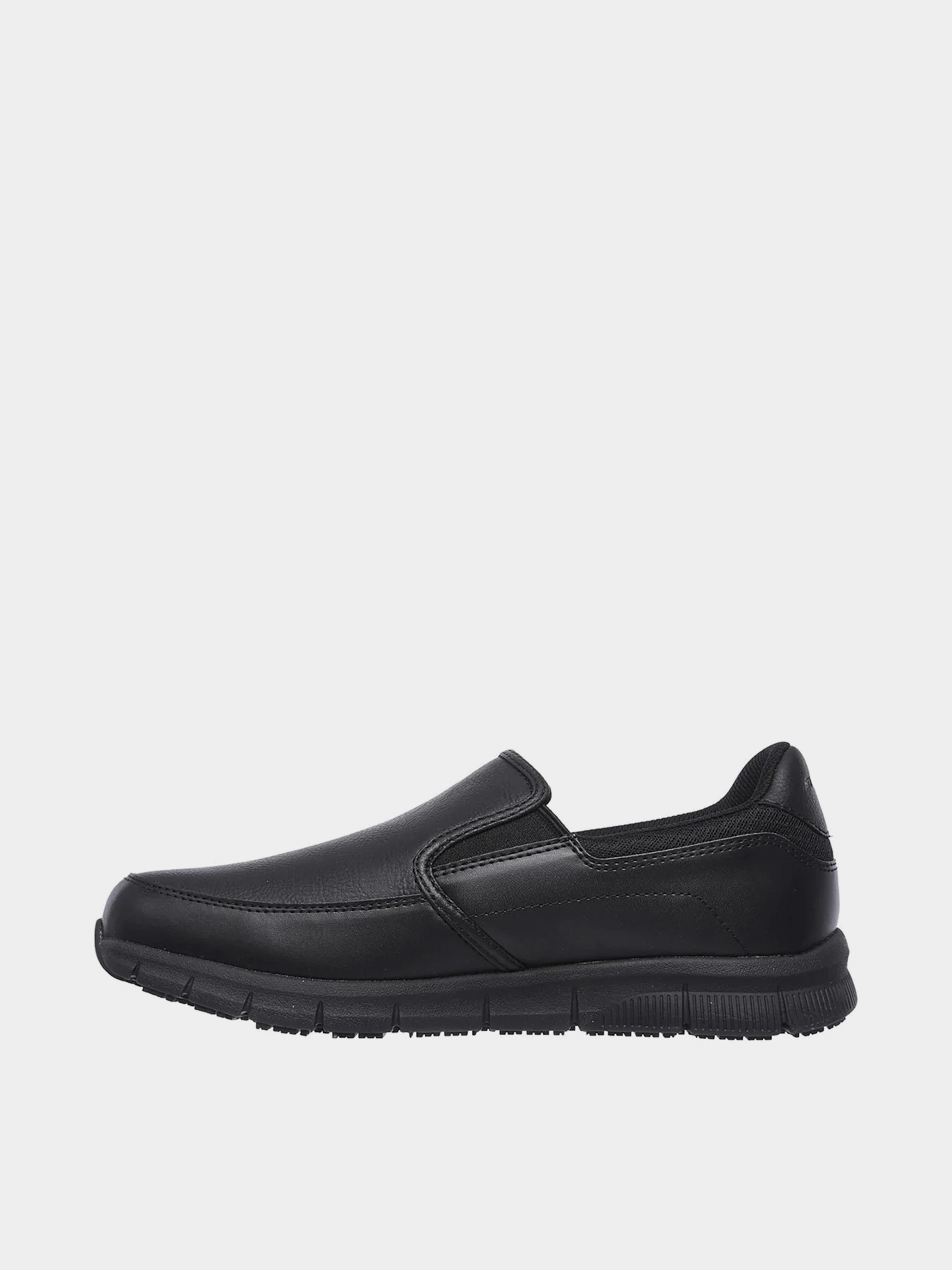 Слипоны для мужчин Skechers Work KM3065 купить обувь, 2017